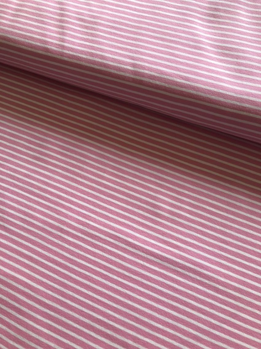 Pink and white stripe - Roxanne